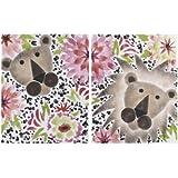 Cotton Tale Designs 2 Piece Wall Art, Here Kitty Kitty