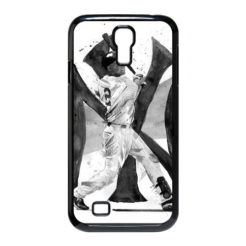Hard Shell Case Cover For Samsung Galaxy S4 I9500 With Derek Jeter Fashion Style Un012464 front-1084108
