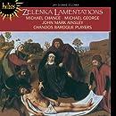 Lamentations de Jérémie / Michael Chance, contreténor - John Mark Ainsley, ténor - The Chandos Baroque Players