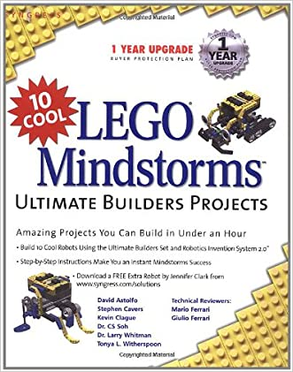 10 Cool LEGO Mindstorms Ultimate Builder Projects: Amazing Projects You Can Build in Under an Hour
