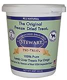 Stewart Pro-Treat Lamb Liver Freeze Dried Dog Treats, 3-Ounce