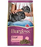 Burgess Excel Nuggets with Mint Chinchilla Food 2 kg (Pack of 2)