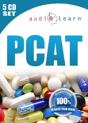 2014 PCAT AudioLearn - A complete science review for the Pharmacy College Admission Test on 4 Audio CDs!