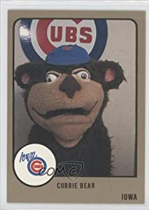Cubbie Bear (Baseball Card) 1988 Iowa Cubs ProCards #554 by Iowa Cubs ProCards