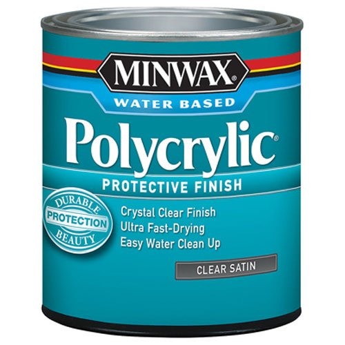 Minwax 23333 Satin Polycrylic Protective Finishes, 1/2 Pint (Exterior Wood Sealer compare prices)