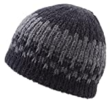 Icebox Knitting Yeti Winter Hat, Medium/Large, Grey