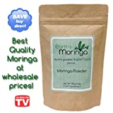Moringa Powder Malunggay 1.1lb/17.6oz. 500 Grams 100% Organic Pure Moringa Oleifera Leaf Powder Superfood