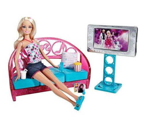 Barbie – Wohnzimmer mit Puppe Geschenkset kaufen