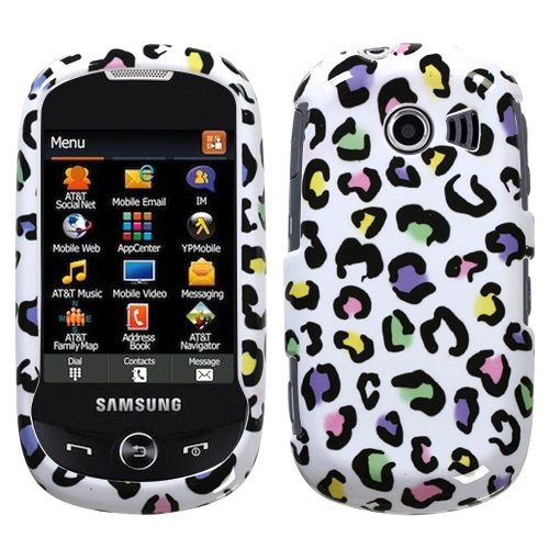 Color Leopard Phone Cover Protector Case for AT&T Samsung Flight II A927 image