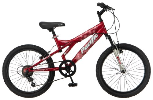 Pacific Boy's Exploit Mountain Bike, Red, One Size (Gear Cycles compare prices)