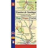 Camino de Santiago Maps / Mapas / Cartes: St. Jean Pied de Port/Roncesvalles - Finisterre via Santiago de Compostelaby John Brierley