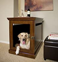 Big Sale Small Mahogany TownHaus Hideaway Dog House Nightstand End Table