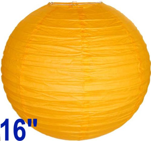 Orange Chinese/Japanese Paper Lantern/Lamp 16