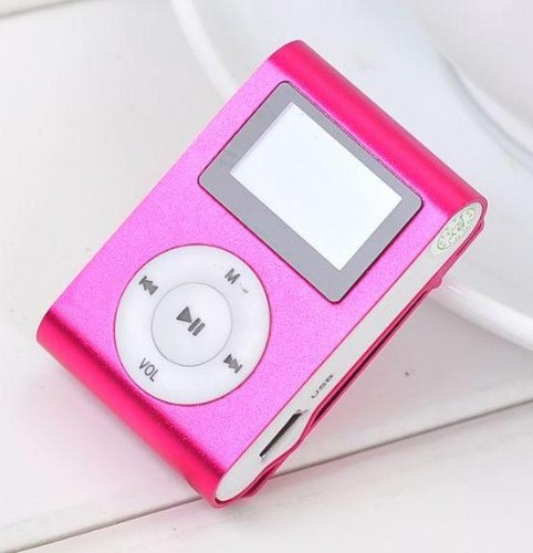 Limtech® Lcd Mini Clip On Mp3 Player.Supports 1Gb,2Gb,4Gb,8Gb Sdhc Memory (Bulk Package,Memorry Card Not Included)