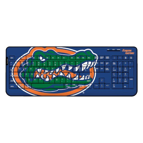 Florida Gators Wireless Usb Keyboard Ncaa