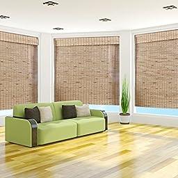Mandelhi Bamboo Roman Shade - Free Shipping, 30x54