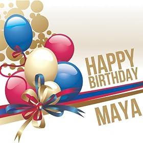 Amazon.com: Happy Birthday Maya: The Happy Kids Band: MP3 Downloads