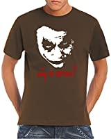 Touchlines T-shirt homme Joker - Why So Serious?