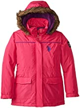 US Polo Association Big Girls39  Parka With Removable Faux Fur Trimmed Hood