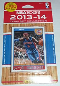 Detroit Pistons Brand New 2013 2014 Hoops Basketball NBA Licensed Factory Sealed 10... by Detroit Pistons Team Set