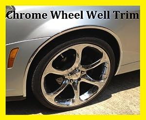 Acura Chrome Wheel Well Fender Trim Molding All Models D.I.Y. Kit