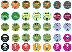 Crazy Cups Summer Sampler Single serve cup Portion Pack for Keurig Brewers (Pack of 35) by Crazy Cups