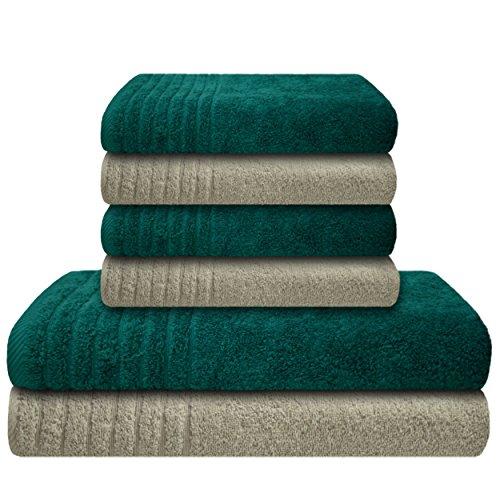 preiswert 1 fc k ln duschtuch 39 blockstreifen 39 g nstig shoppen. Black Bedroom Furniture Sets. Home Design Ideas