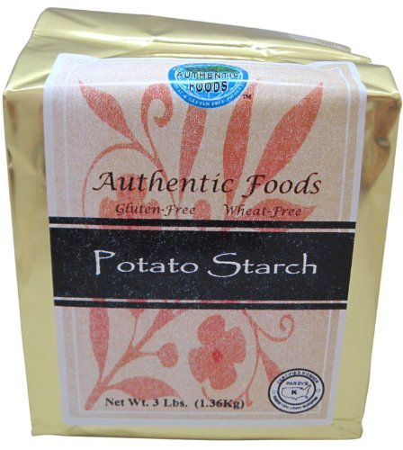 Authentic Foods Potato Starch - 3 lb (Potato Corn Starch compare prices)