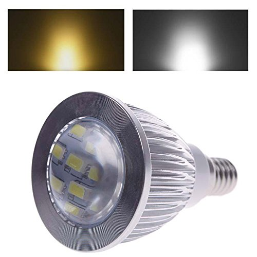 E14 12 Led 5630 Smd 5W Spot Light Bulb Pure White Lamp 110V F2Home Useful