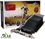 Axle nVidia GeForce GT520 2048 MB Grafikkarte Low Profile passiv (PCI-E, 2GB GDDR3 Speicher, 64-bit, Windows 7, DVI, VGA, HDMI)