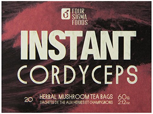 Four Sigma Foods Instant, Cordyceps, 20 Count