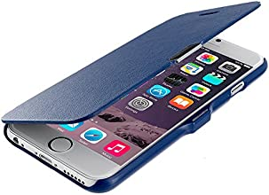 Accessory Planet(TM) Blue Magnetic Closing Wallet Pouch Case Cover Accessory for Apple iPhone 6 Plus (5.5)