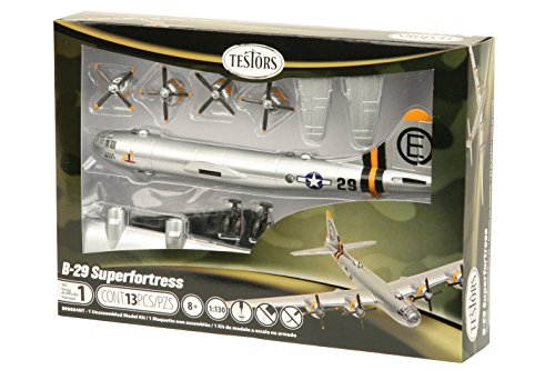 Testors B-29 Superfortress Aircraft Model Kit (1:130 Scale) (B 29 Model Kit compare prices)