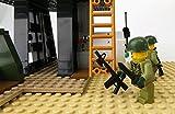 Modbrix 2331- ★ US ARMY VIETNAM Hubschrauber Basis mit OH-6 Cayuse Hubschrauber und custom US MARINES Soldaten aus original Lego© Teilen ★ - 3