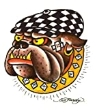 515vk7sGMhL. SL160  Ed Hardy Bulldog Temporary Body Art Tattoos 3