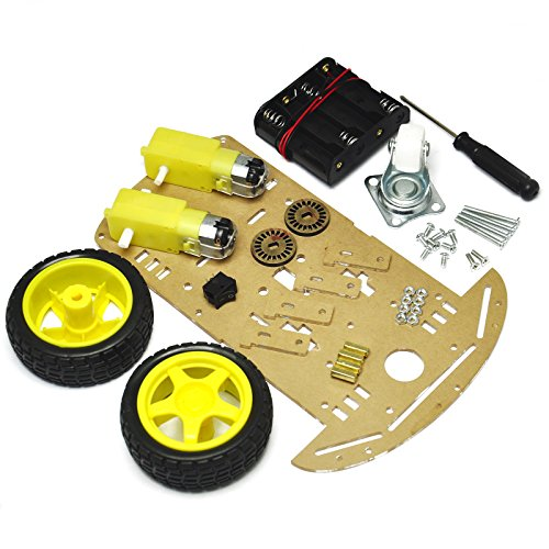 Gikfun 2WD Smart Robot Car Chassis Kit With Speed encoder Battery Box 2 Motor EK1343 (2wd Robot Car compare prices)