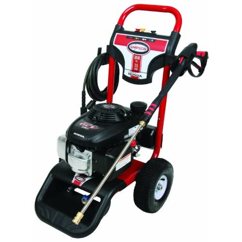 Image of Simpson MSV3025-S Megashot 3,000 PSI Honda GCV190 Premium Gas Powered Heavy Duty Pressure Washer