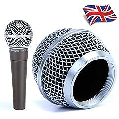 Replacement Mesh Microphone Head for Shure SM58, AKG, Sennheiser etc