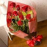 翌日配達お花屋さん ニューヨークスタイルのフラワーギフト・スタイリッシュで大人気♪送料無料 シンフォニー(赤バラ花束) 【送料無料】正午までのご注文は翌日、またはご希望の日にお届け致します。※土曜の正午以降及び日曜の受付は月曜発送(火曜以降着)