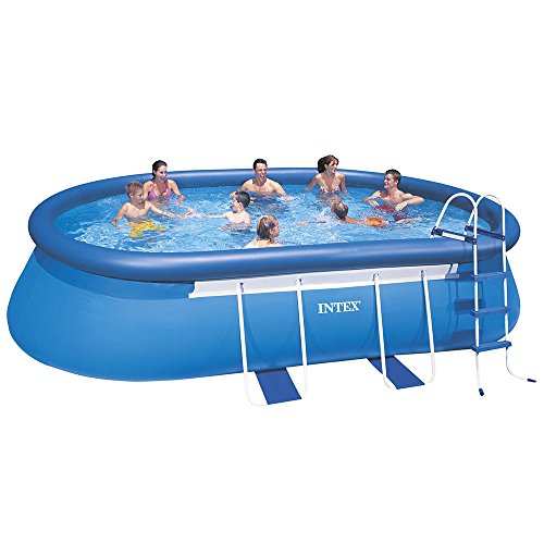 Intex 20ft x 12ft x 48in oval frame pool set coconuas27 - Intex oval frame pool ...