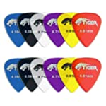 Tiger Music Gels Guitar Plectrums Pic...