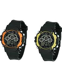 True Colors Sport Digital Watch Oreng,yellow Pic - For Women