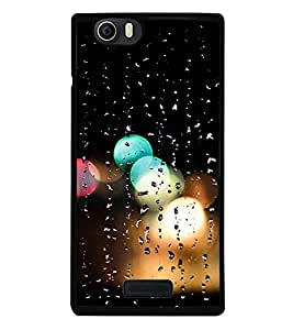 Rain Drenched Window 2D Hard Polycarbonate Designer Back Case Cover for Micromax Canvas Nitro 2 E311