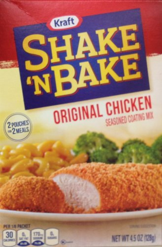 Shake 'n Bake ORIGINAL CHICKEN Seasoned Coating Mix 4.5oz (2 Boxes) (Shake And Bake Original Chicken compare prices)