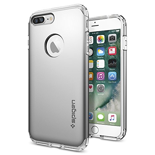 iPhone-7-Plus-Case-Spigen-Hybrid-Armor-AIR-CUSHION-Satin-Silver-Clear-TPU-PC-Frame-Slim-Dual-Layer-Premium-Case-for-Apple-iPhone-7-Plus-043CS20698