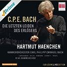 C.P.E. Bach: Die letzten Leiden des Erl�sers, Wq. 233 (Passions-Kantate f�r Soli, Chor und Orchester)
