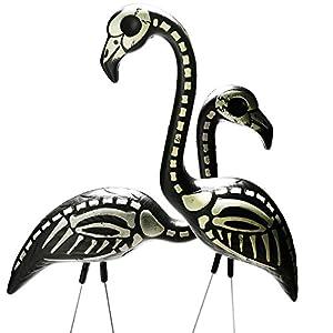 Skeleton Flamingo