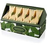 Tea Forte Essential Greens Ribbon Box - 20 Silken Pyramid Infusers