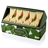 Tea Forte Essential Greens Ribbon Box - 20 Silken Pyramid Infusers