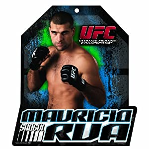 UFC Mauricio Rua 11-by-13 Wood Mascot/Player Sign